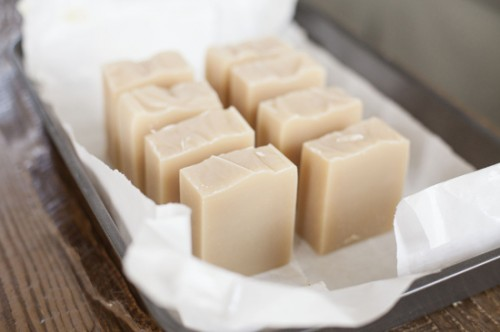simple cold process soap
