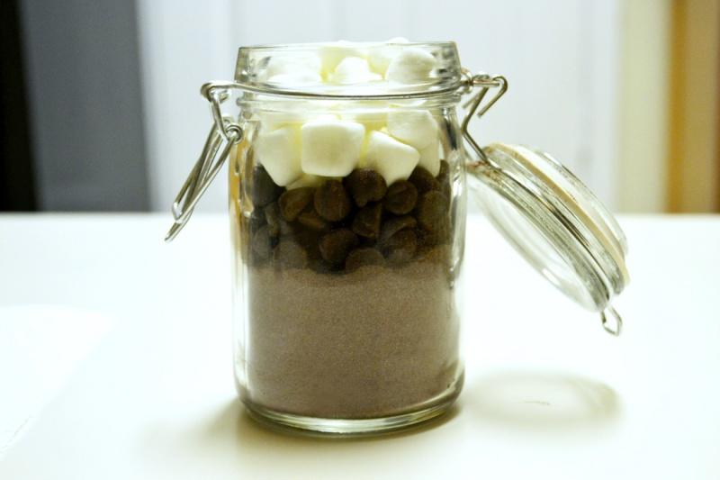 hot cocoa jar