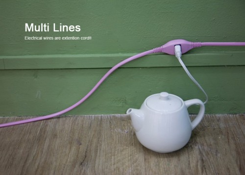 Cool Designer's Extension Cord