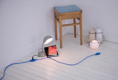 Designer's extension cord