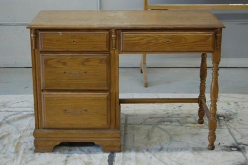 Desk Renovation Before