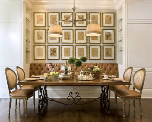 20 dining area decorating ideas shelterness for Dining room area ideas