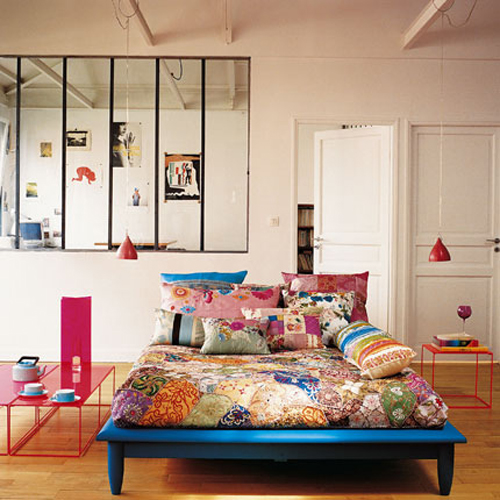 Disco Inspired Bedroom Design