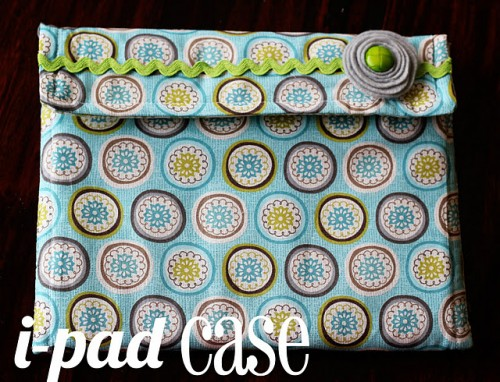 DIY 30-Minute Ipad Case