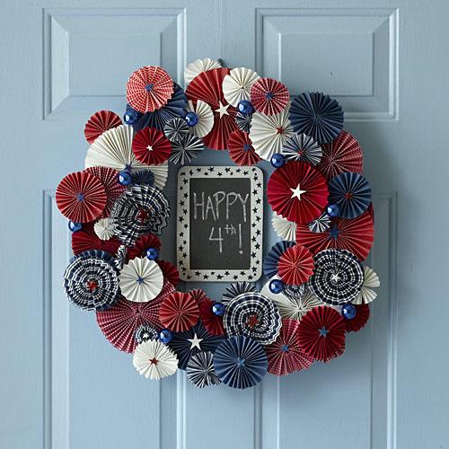 Diy 4th July Wreath