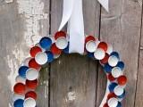 Diy 4th Of July Bottle Cap Wreath