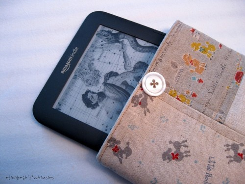 DIY Patchwork Kindle Cover
