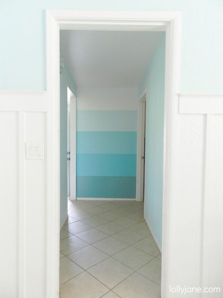 ombre accent wall (via hometalk)