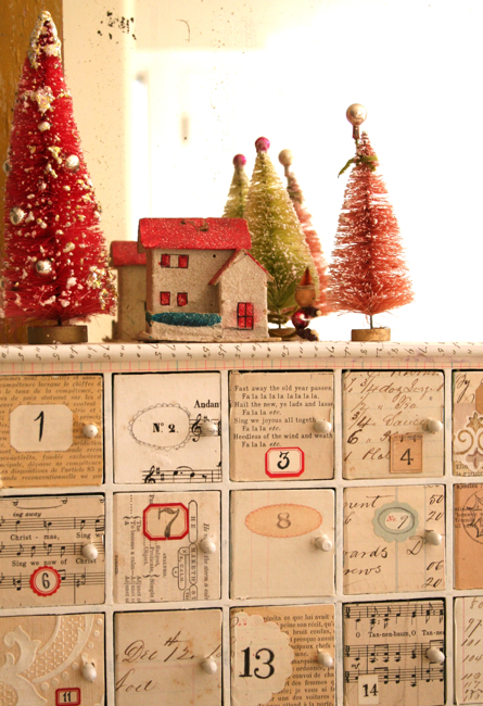Diy Advent Calendar Drawers : Picture of diy advent boxes