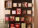 Diy Advent Calendar Made Of Boxes