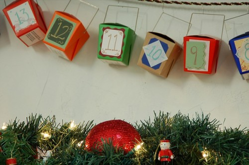 DIY Advent Calendar Of Chinese Food Take Out Boxes