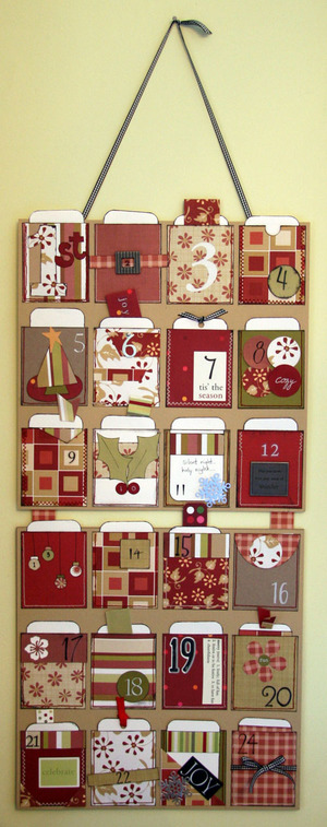 Diy Advent Pocket Calendar