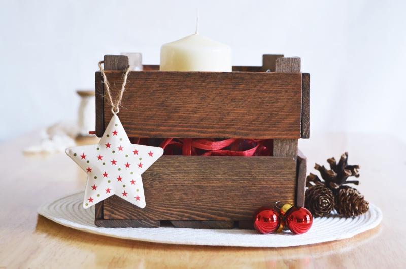 DIY Aged Miniature Farm Fruit Crate