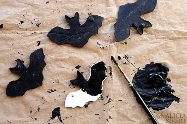Picture Of diy air dry clay bats to make with kids  6
