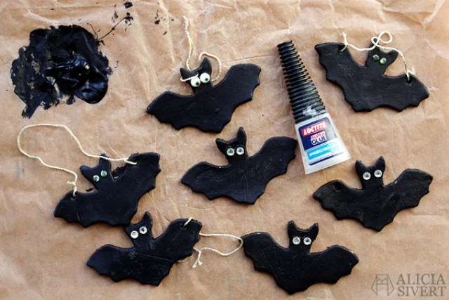 Picture Of diy air dry clay bats to make with kids  7