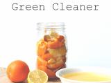 DIY cleaner with various citrus zest