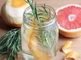 grapefruit and rosemary cleaner