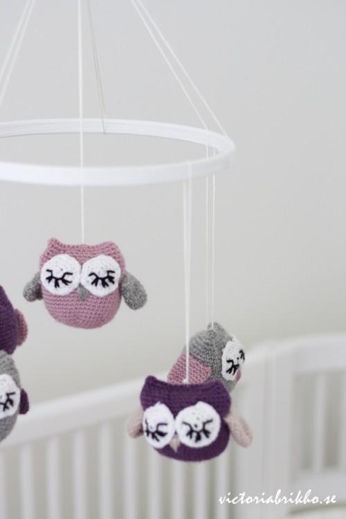 owl mobile (via victoriabrikho)