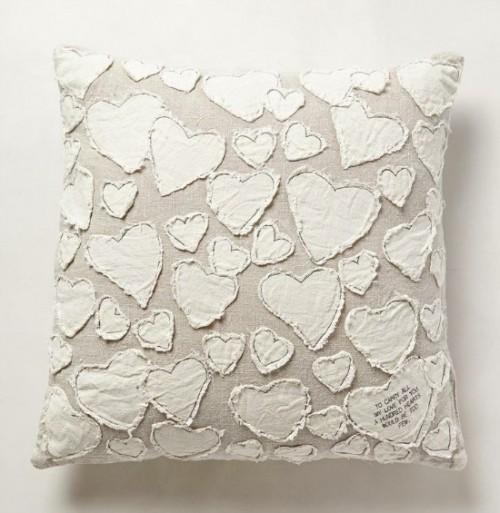 DIY Anthropologie-Inspired Heart Pillow