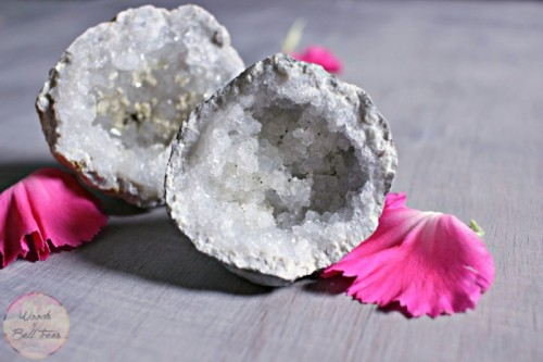 DIY Anthropologie-Inspired Knockoff Geode Drawer Pulls