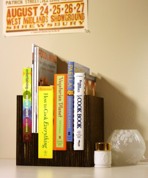 DIY Anthropologie-Inspired Mini Bookcase - DIY Anthropologie-Inspired Mini Bookcase - Shelterness