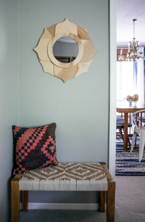 Diy Anthropologie Inspired Mirror Of Birch Plywood