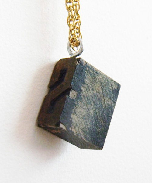 Diy Antique Stamp Necklace