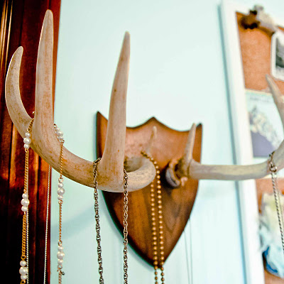 Diy Antler Necklace Rack