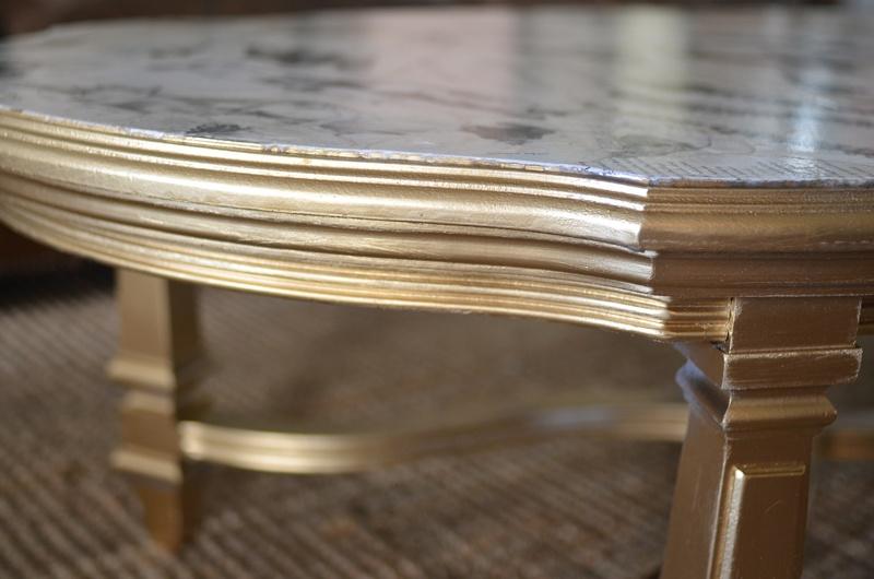 Diy Art Book Decoupaged Table