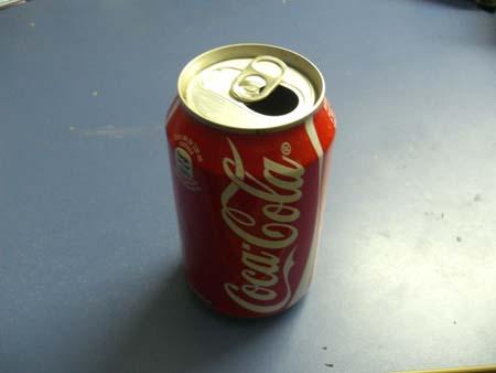 Diy Ashtray Of Soda Can