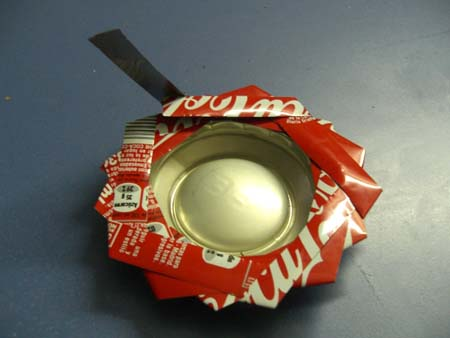 DIY Ashtray Of Soda Can