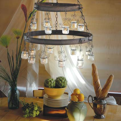 Diy Baby Food Chandelier