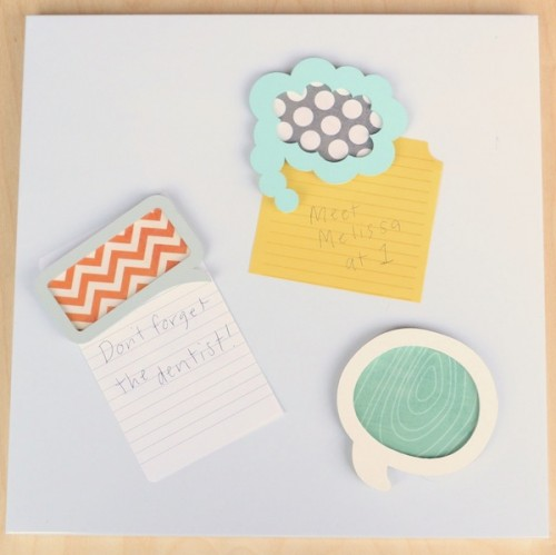 Diy Back To School Magnet Board