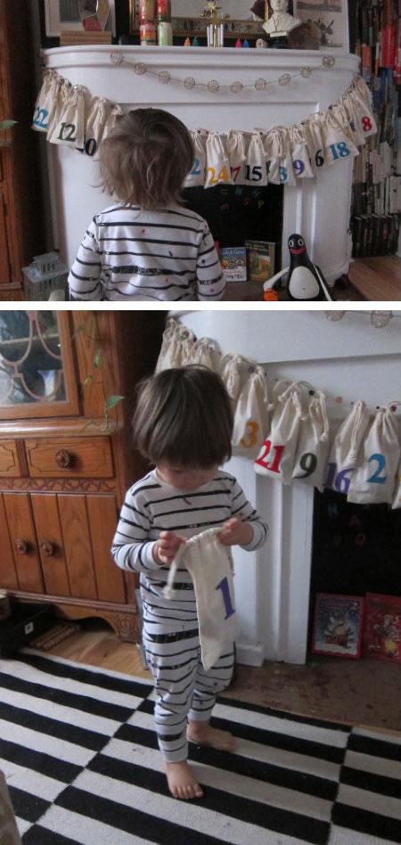 Diy Bags Advent For Children