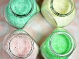 bath salts as wedding shower favors