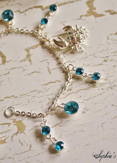 DIY Beach-Inspired Crab Bracelet