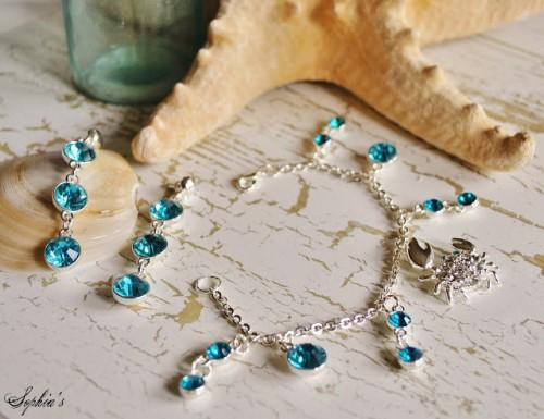 Diy Beach Inspired Crab Bracelet