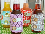 Diy Beer Cozies For Parties And Barbeques