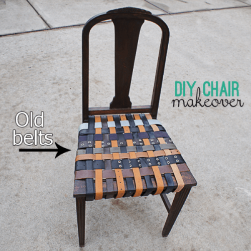Diy belt chair renovation shelterness How to renovate old furniture