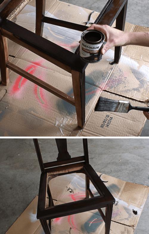 Diy Belt Chair Renovation