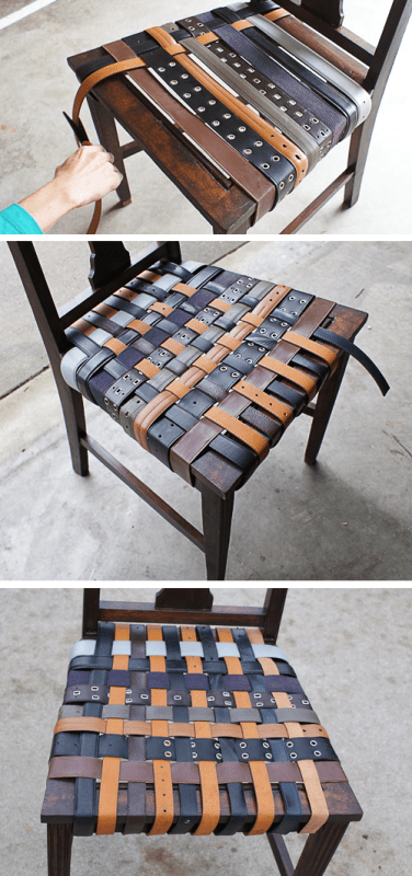 Diy Belt Chair Renovation Shelterness