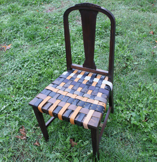 Diy Belt Chair Renovation