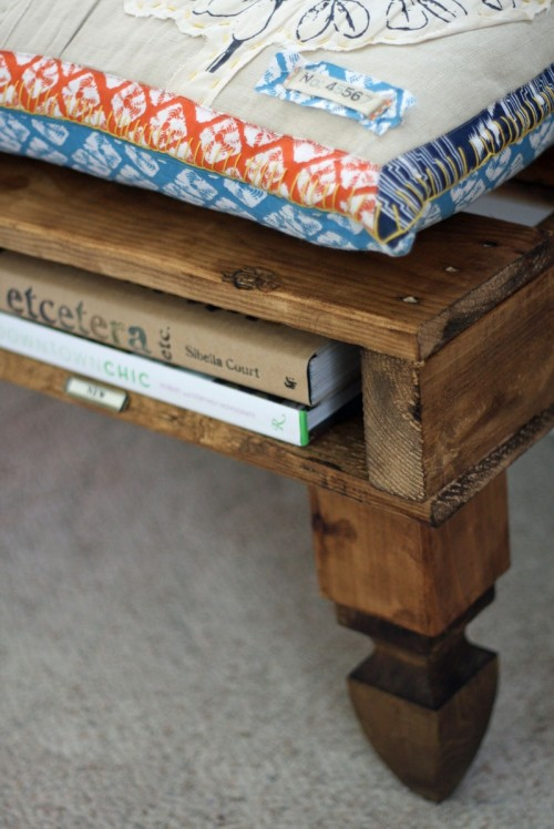 Diy Bench Of Wood Pallets