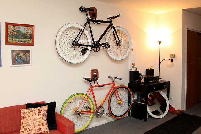 Diy Bike Wall Storage
