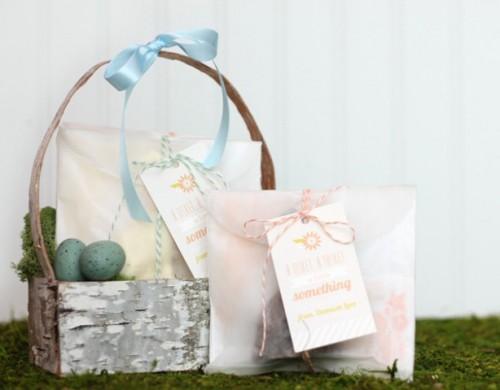 Diy Birch Bark Basket For Spring Decor