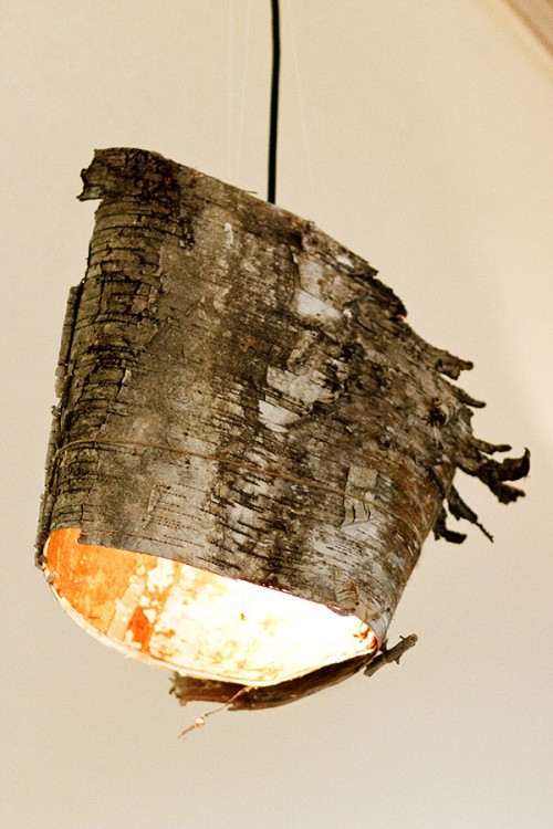 Diy Birch Bark Lmp