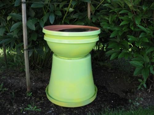 Diy Birdbath For Your Garden