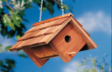 simple birdhouses