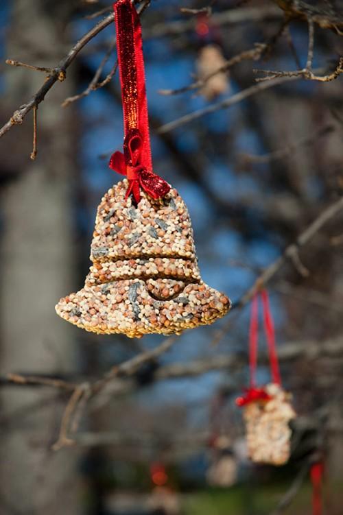 11 DIY Birdseed Ornaments For Christmas