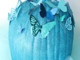 diy-blue-cinderella-butterfly-pumpkin-1
